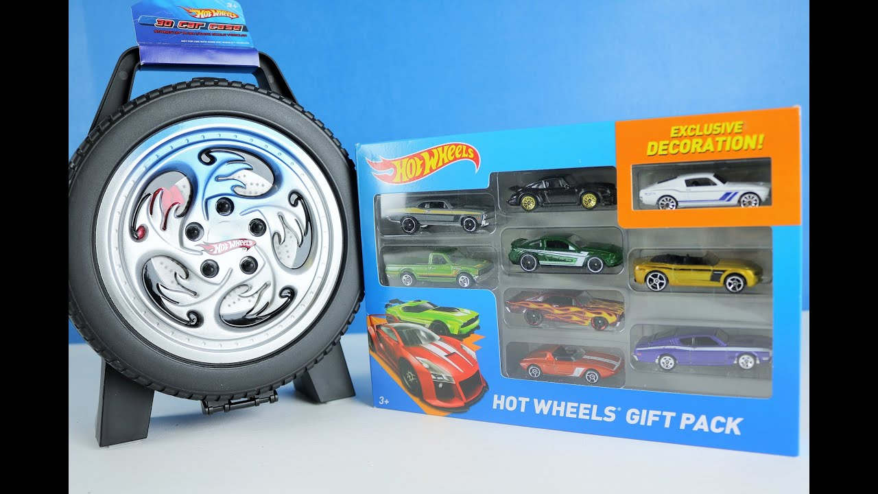 Hot Wheels Toy Car Holder Case : Hot wheels toys cars and car case for kids youtube