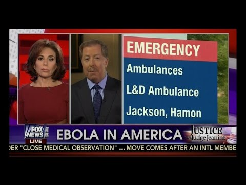 Judge Jeanine ➡ The Ebola Threat ➡  Some Good Texas Common Sense