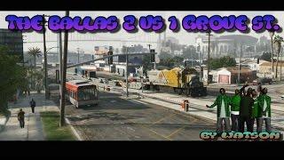 Grove Street Gang vs The Ballas | Как щенков :*