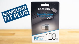 Samsung Fit Plus USB 3.1 Flash Drive Review / Speed Test