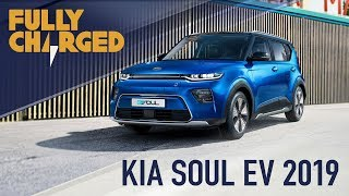 KIA Soul EV 2019 - zero emissions electric compact cars   Fully Charged