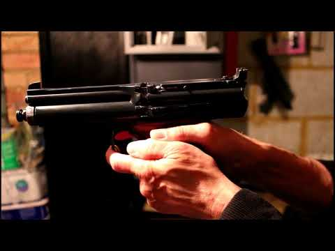 Crosman Model 600 Semi Automatic Air Pistol Part 2