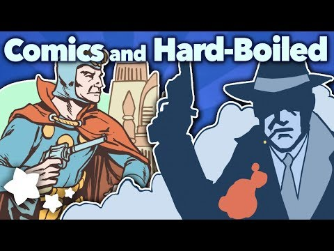Comics and Hard-Boiled - Pulp! Noir - Extra Sci Fi