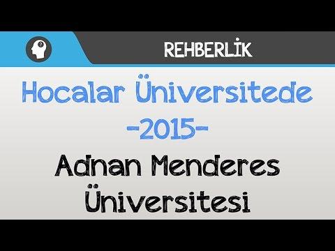 Hocalar Üniversitede - Adnan Menderes Üniversitesi