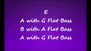 Summer Song in E Backing Track
