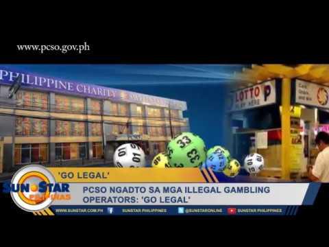 PCSO ngadto sa mga illegal gambling operators: 'Go legal'