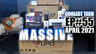 MASSIVE Coolest Tech of the Month April 2021 - EP#55 - Latest Gadgets You Must See!