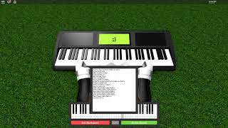 Roblox Piano | I'm Blue by Eiffel 65 + Sheet Music