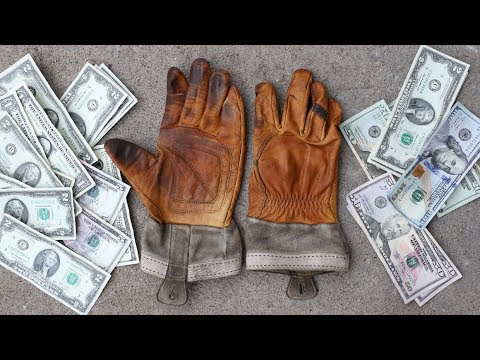 World's Most Expensive Work Gloves!