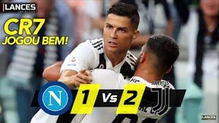 Jogo com 2 jogadores expulso a Juventus vence Napoli! Napoli 1x2 Juventus! 03/03/2019!