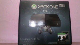 Unboxing de la consola de Halo 5 Guardians Edición especial