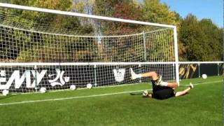 soccer shooting exercise   the toe poke drill   nike academy