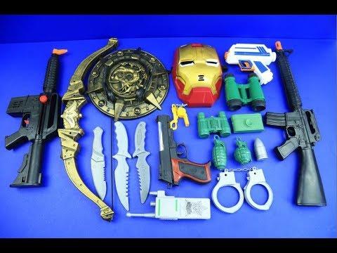 Box Of Toys GUNS BOX Toys Military Amp Police Equipment Gun Toy 24 YouTube