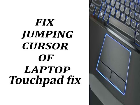 HOW TO FIX JUMPING CURSOR OR POINTER AROUND - YouTube