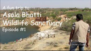 Asola Bhatti Wildlife Sanctuary - Fun trip : Part 1 (Feb 2015)
