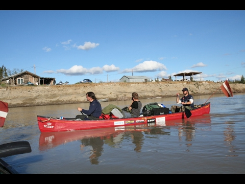 Jukonas Skartie / Touched by Yukon 1. sērija. Canoe in Alask