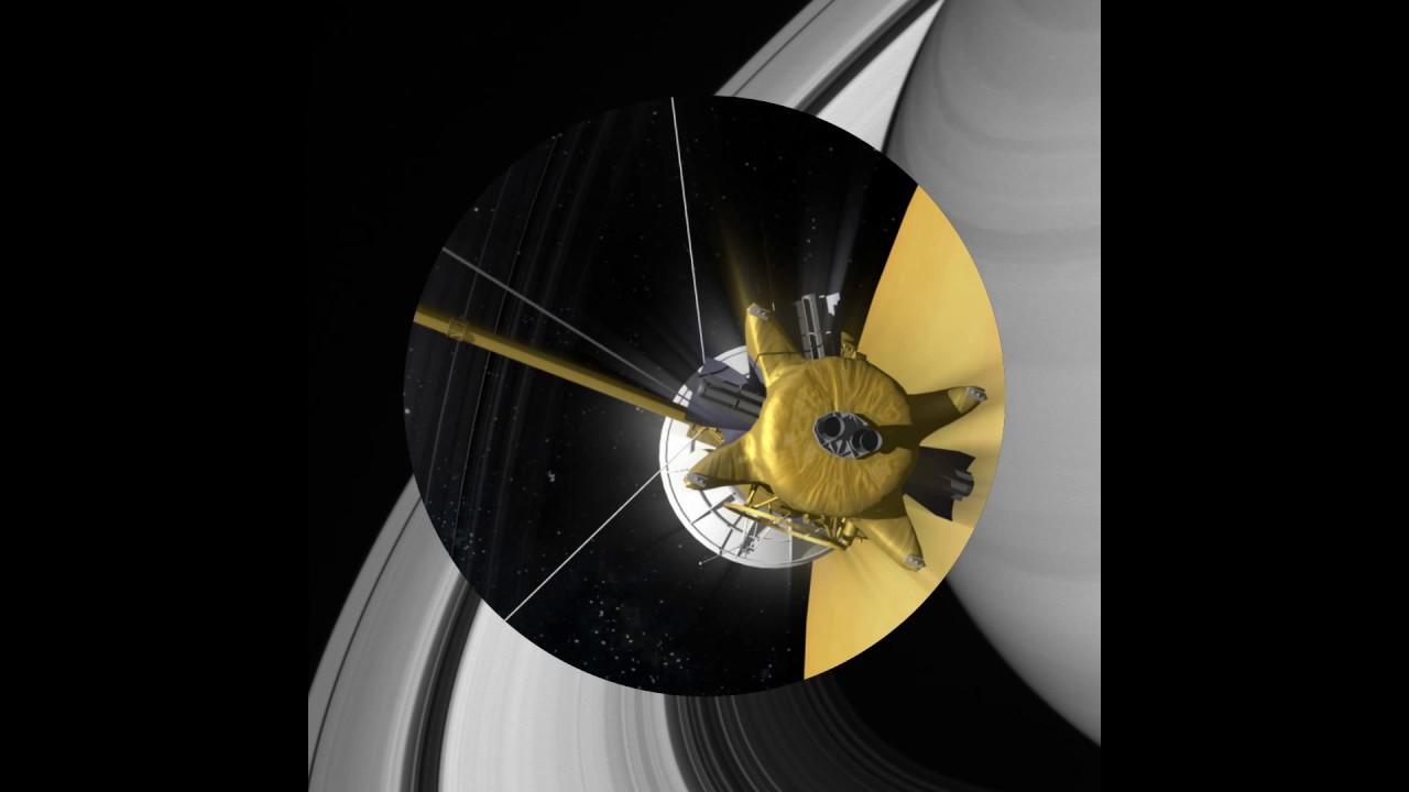 Phi thuyền Cassini hoàn thành sứ mệnh lịch sử- (Cassini completes its historic mission)