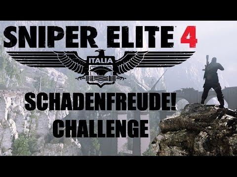 Sniper Elite 4 - Schadenfruede! Challenge - Target Fuhrer DLC |