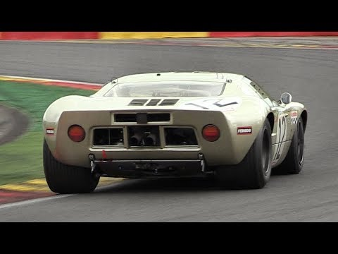 Ford GT40 Mk1 Sound On Track! - Accelerations, Downshifts & Fly Bys