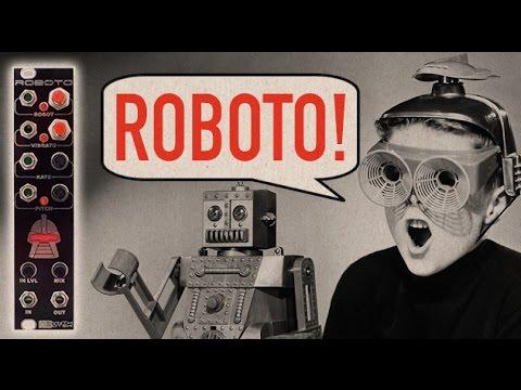 ROBOTO Eurorack Robot Vocoder LoFi Module - Synthrotek Demo