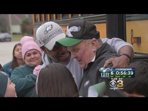 Students, Parents Surprise School Bus Driver With Super Bowl Tickets
