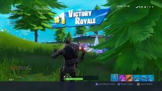 Bot getting a victory royal in Fortnite!! Fortnite Battle Royal random squads