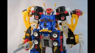 DX Go-buster-Oh Review(Tokumei Sentai Go-busters) [Power Rangers Beast Morphers]