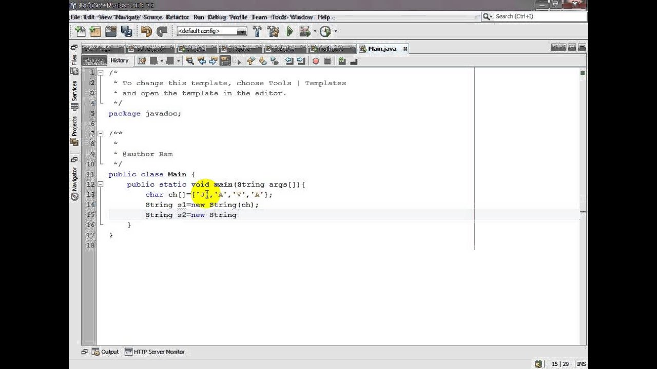 Java Convert Char To String Youtube