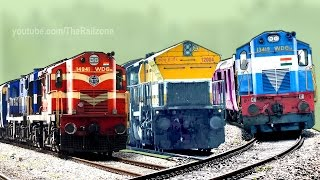 Musical Railway Tracks | Train Sound | Railroad | Indian Railways