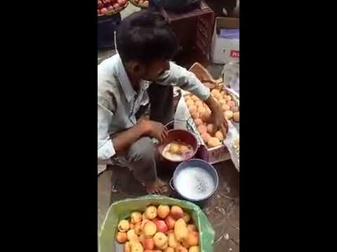Fruit seller caught using chemical in fruits