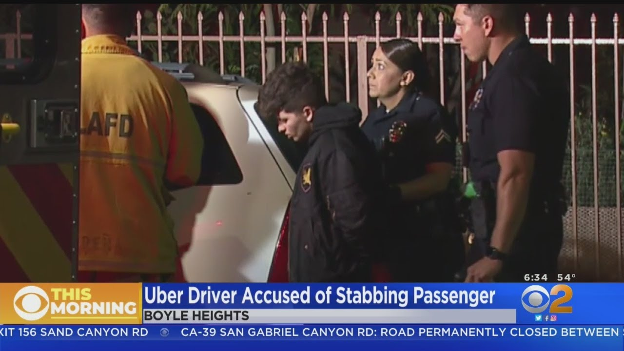 Grandmother Stabbed After Hitting Uber Driver With Her Purse