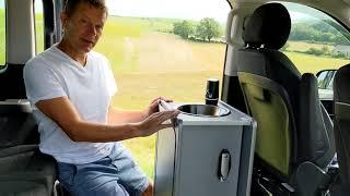 How to fit a Vangear Mini-Pod camper van pod