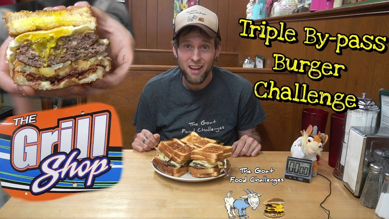 TGFC's E129 - Triple By-pass Burger Challenge | Grill Shop | Boyertown, PA