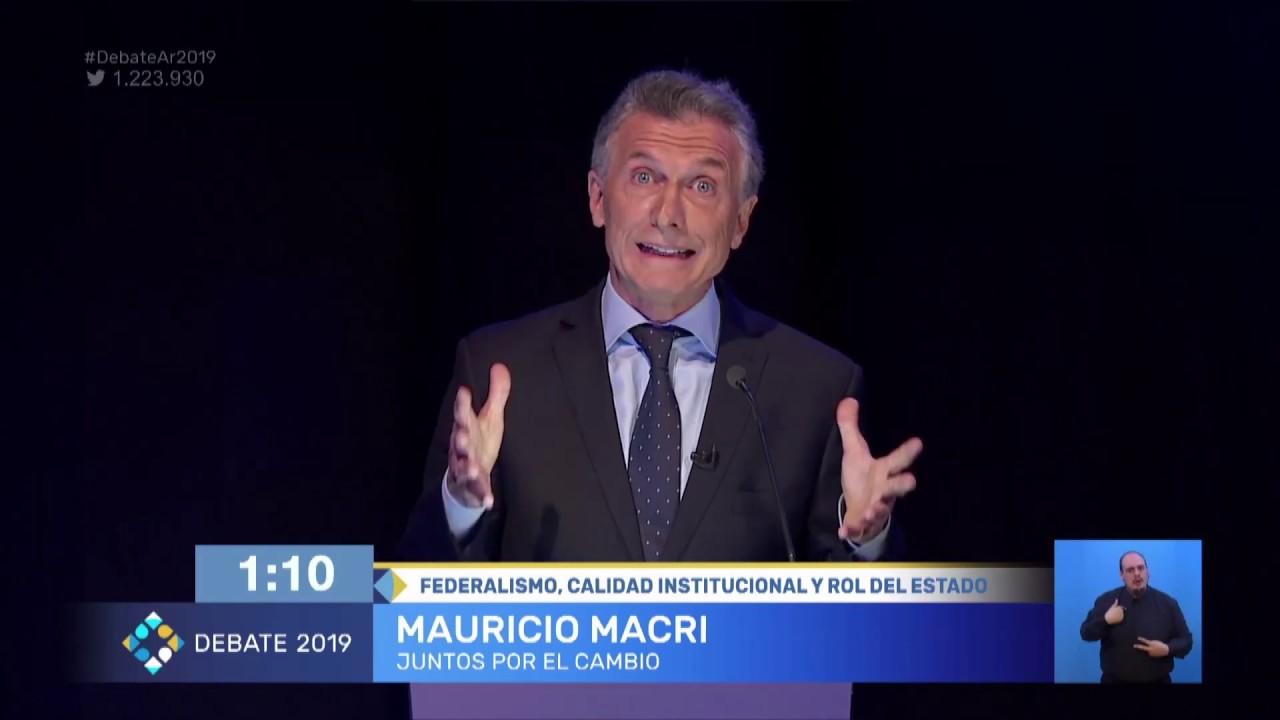 El federalismo, la calidad institucional y el rol del Estado, otro punto de discusión en el debate