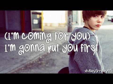 Justin Bieber - One Less Lonely Girl (with lyrics)