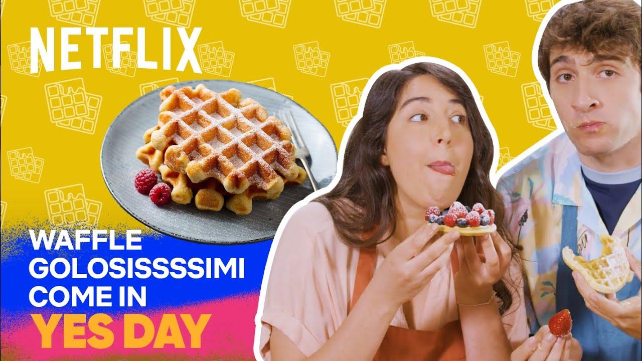 Ecco come fare waffle GUSTOSISSIMI (ma non esplosivi!) come in Yes Day | Netflix Futures