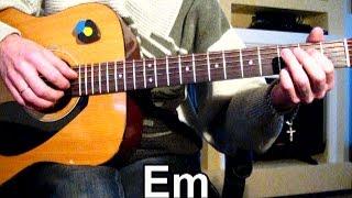 Пикник - Ночь - Тональность ( Еm ) Как играть на гитаре песню