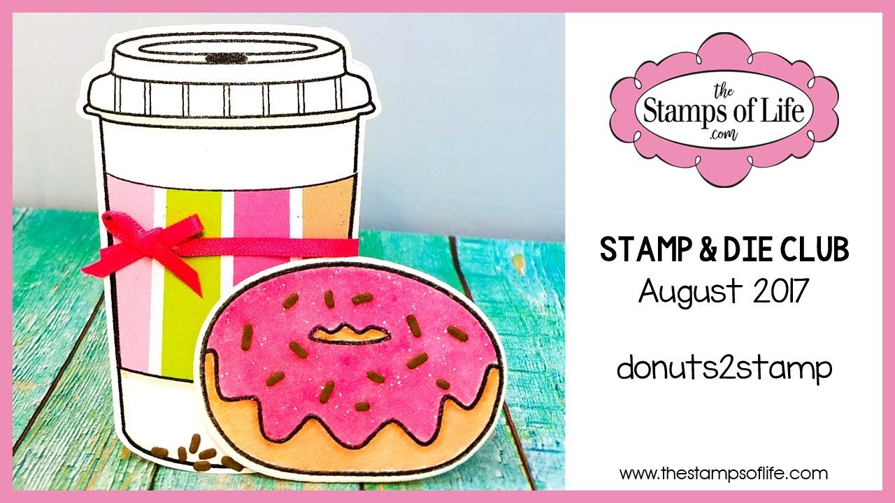 The Stamps of Life Donuts 2 Stamp Dies and Stamps set