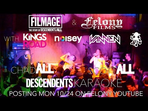 ALL (Chad & Scott) & DESCENDENTS Karaoke. Filmage After Party