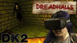 Oculus Rift DK2 - Dreadhalls (0.7 Runtime) (quick peek)
