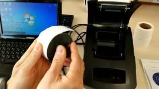 видео чековые принтеры: SEWOO