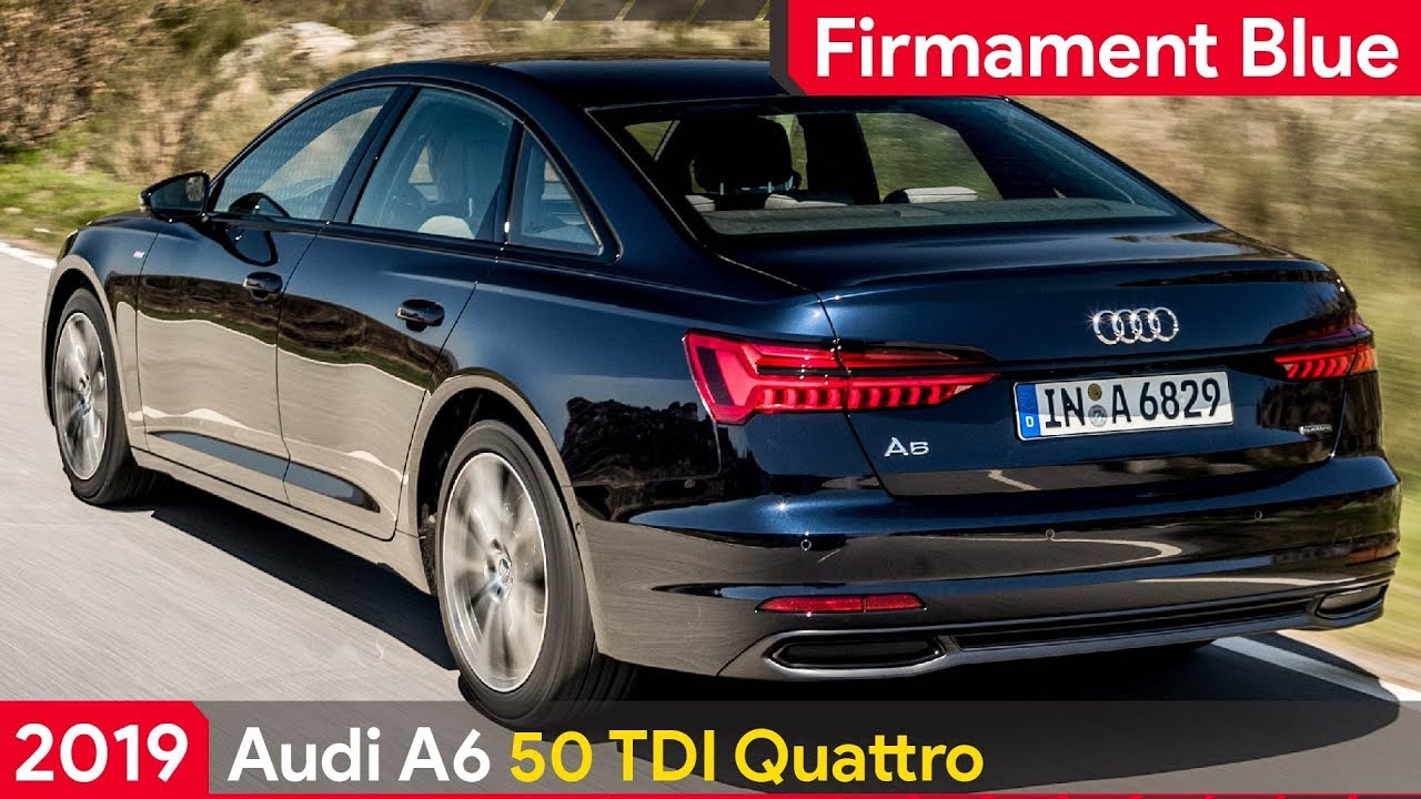 2019 Audi A6 50 Tdi S Line Driving On Location Youtube