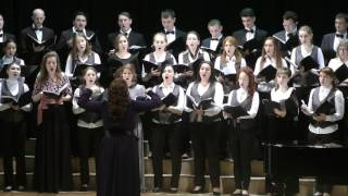 В Пономарев хоровой цикл на стихи В Хлебникова II часть дир Е Протасова