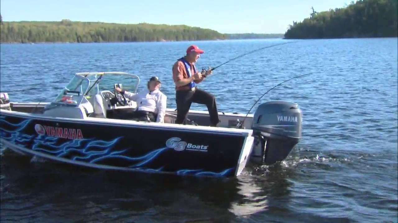 Canadian Sportfishing Trolling for Walleye, Eagle Lake Island Lodge Csf 24  08 04 mov