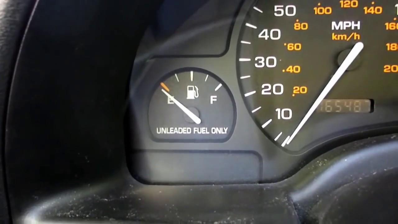 medium resolution of gas gauge reads too low