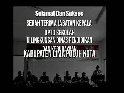 """Sertijab Puluhan Kepsek SMPN, Indrawati S.Pd. M.Pd : """"Tidak ada waktu berleha-leha bagi para Kepala Sekolah."""