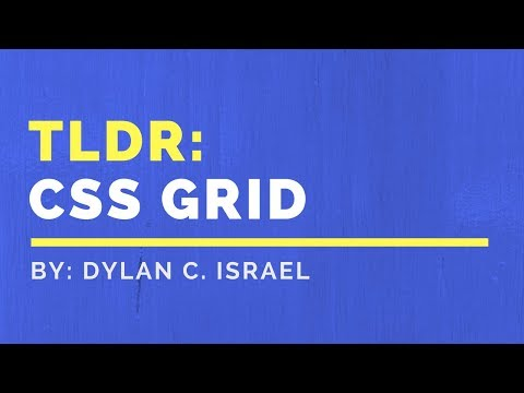 Introduction To CSS Grid: TLDR