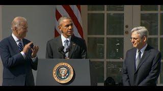 Obama Nominates Merrick Garland for Supreme Court [FULL SPEECH]