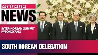 Representatives from politics, business and civic groups meet their North Korean counterparts