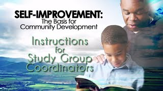 How To Conduct The Self Improvement Study Group Circle